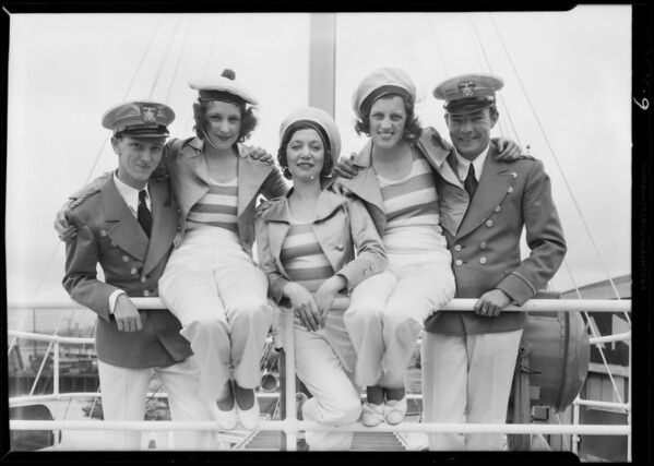 Radio entertainers from KMJR, Southern California, 1931
