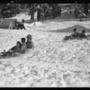 Snow scenes at Big Pine, Southern California, 1931