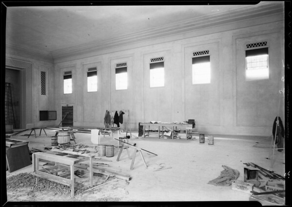 Installation at County Hospital, Los Angeles, CA, 1932