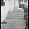 Steps, Pearl apartments, 307 South Boyle Avenue, Los Angeles, CA, 1933