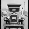 Young's Market Co. truck, Southern California, 1932