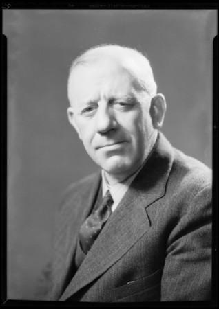 Portraits of Joe Hartmann, Southern California, 1931