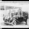 Packard at Gilmore Station, Southern Californa, 1932