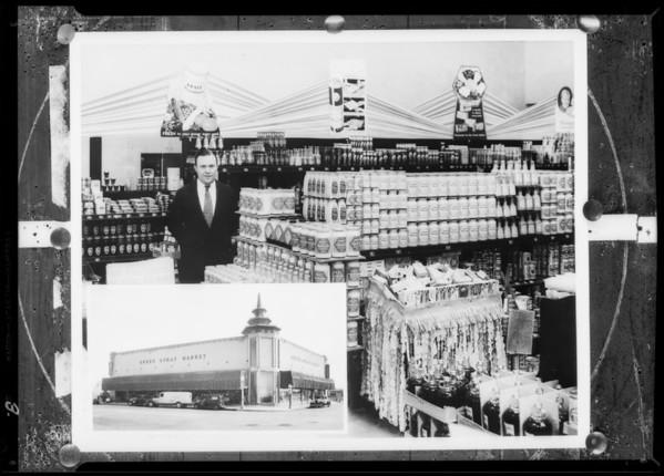 Green Spray Market, Southern California, 1932