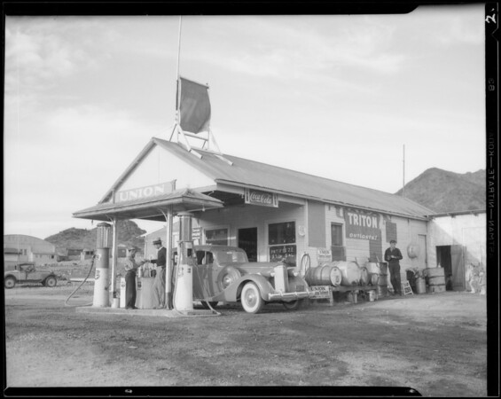 Union station at Railroad Pass, Boulder City, NV, 1934