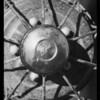 Leaky hub & water pump, Southern California, 1932
