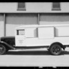 Continental Baking truck, Southern California, 1933