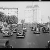 Long Beach traffic scenes, Long Beach, CA, 1934