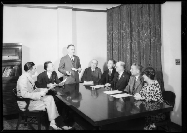 School savings committee, Southern California, 1932