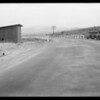 Motorcycle case near Saughes, Southern California, 1932