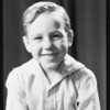 Jimmy Simpson, 5 years, milk ad, Southern California, 1931