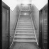 Stairway to basement, Walker's Department Store, Walker's vs. Mrs. H. Schaeffer, Long Beach, CA, 1933