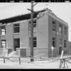 Watts City Hall, showing earthquake damage, Los Angeles, CA, 1933