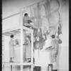 Students working on mural, Woodbury Business College, Los Angeles, CA, 1933
