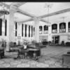 Mayan Hotel interiors, Southern California, 1931