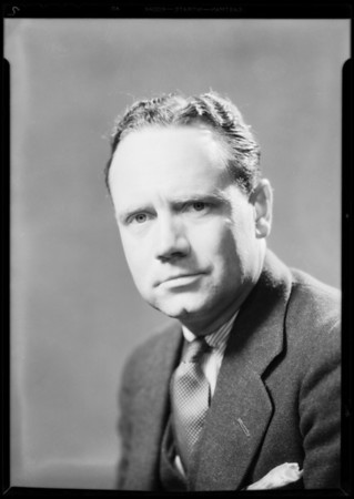 Portraits of Bill Banning, Southern California, 1931