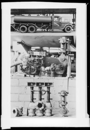 Locomotive etc., Southern California, 1932