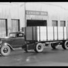 Dodge tractor type truck, Southern California, 1933