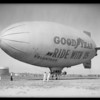 Automobile radio in Goodyear Blimp, Southern California, 1931