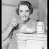 Ruby Keeler, Kraft Phenix Cheese Company, Southern California, 1933