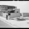 Construction of new homes, Lido Isle, Newport Beach, CA, 1932