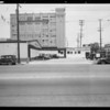 Intersection, East 7th Street and Mateo Street, Los Angeles, CA, 1933