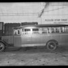 Bus, Langlois Bros., Southern California, 1931