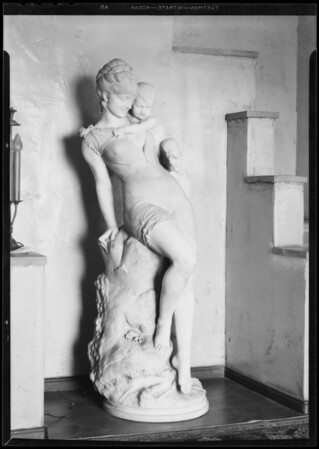 Statue, Southern California, 1932