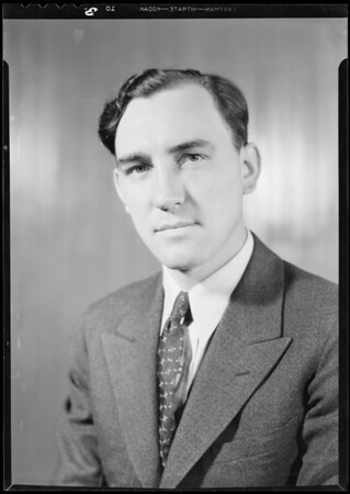 Portraits of department managers, Safeway, Southern California, 1932