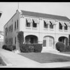3024-6 Van Buren Place, Los Angeles, CA, 1931