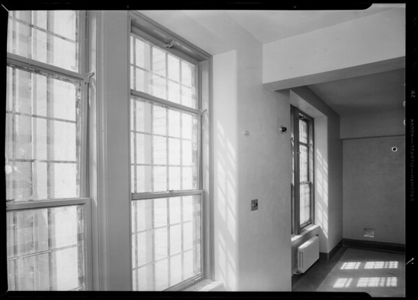 Installation at County Hospital, Los Angeles, CA, 1932