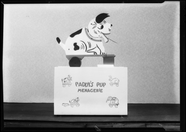 Paddy's Pup, Southern California, 1931