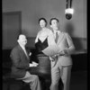 Paul Whiteman audition, KFI, Southern California, 1932