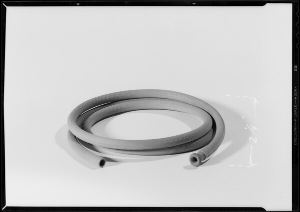 Rubber accessories, Kirkhill Rubber Co., Southern California, 1933