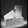 Plaster blocks, Southern California, 1931