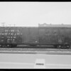 Union Pacific boxcar, Southern California, 1931