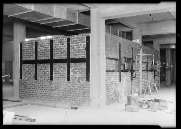 Installation at County Hospital, Dohrmann Hotel Supply, Los Angeles, CA, 1931