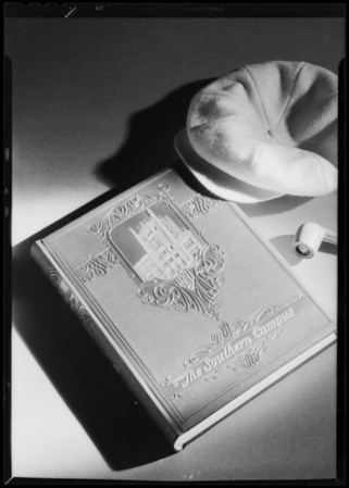 Art photos of book covers, Southern California, 1931