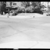 Intersection - West 2nd Street & South Kingsley Drive, scene of accident, Los Angeles, CA, 1933