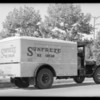 Sunfreze Ice Cream truck, Southern California, 1932