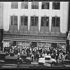 Crowd at opening of store, 537 South Broadway, Los Angeles, CA, 1931