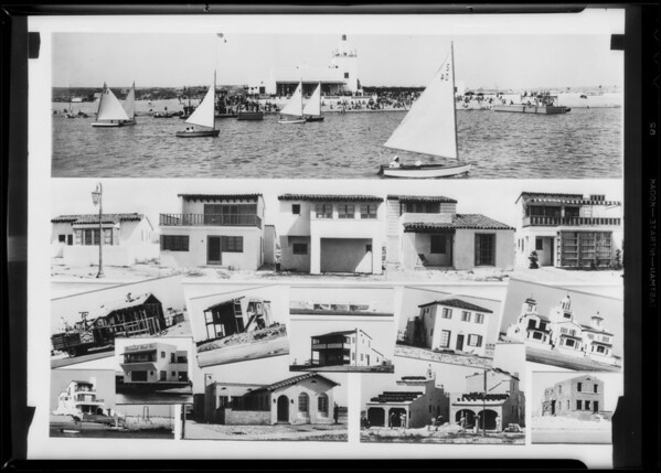 Composite of homes, etc., Southern California, 1932