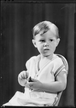 "His boy ""Richard"", Southern California, 1931"