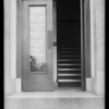 Entrance to building, 8530 South Vermont Avenue, Los Angeles, CA, 1932