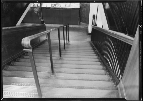 Stairway, Broadway Department Store, Los Angeles, CA, 1933