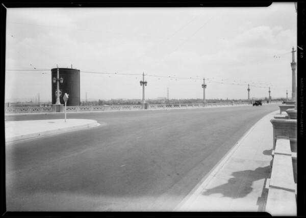 4th Street bridge, case of Kay Masude, Los Angeles, CA, 1932