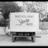 White Rose Water Co. case, South Pasadena, Southern California, 1933