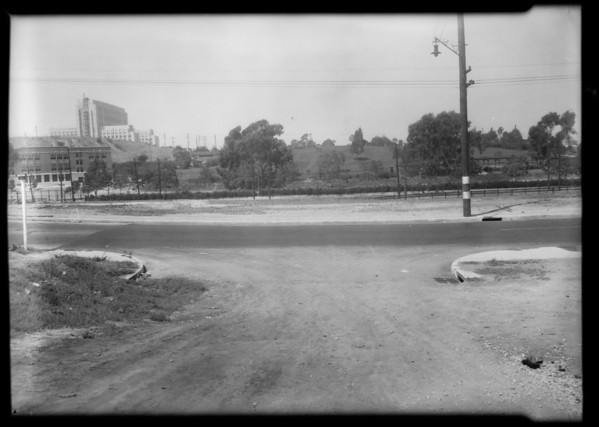 Intersection of North Soto Street and Zonal Avenue, Los Angeles, CA, 1931