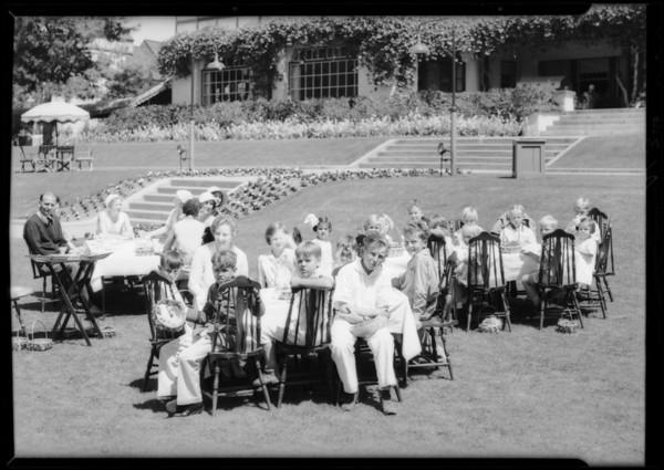 Easter egg hunt, Del Mar, CA, 1932