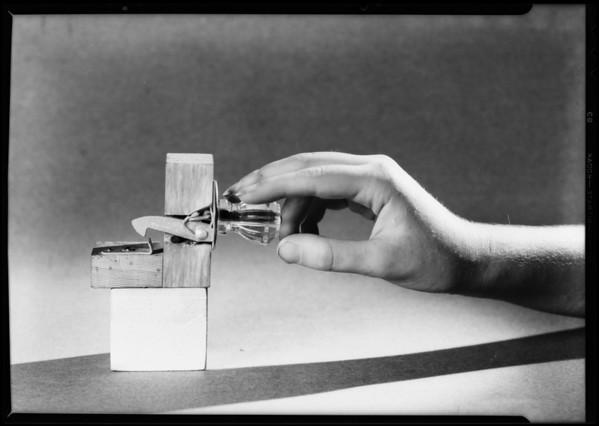 Tilt catch & hand, Southern California, 1931